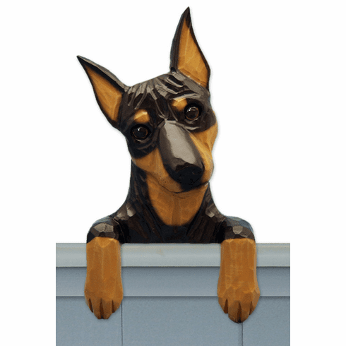 Miniature Pinscher Door Topper