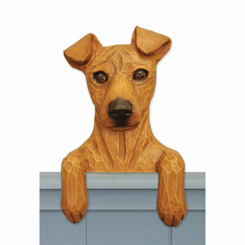 Miniature Pinscher Natural Door Topper