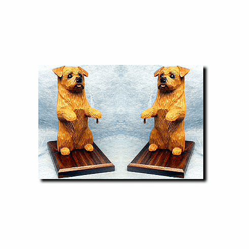 Norfolk Terrier Bookends