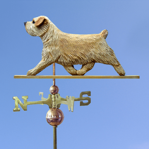 Norfolk Terrier Weathervane-Wheaten