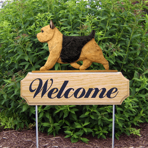 Norwich Terrier DIG Welcome Stake-Black & Tan