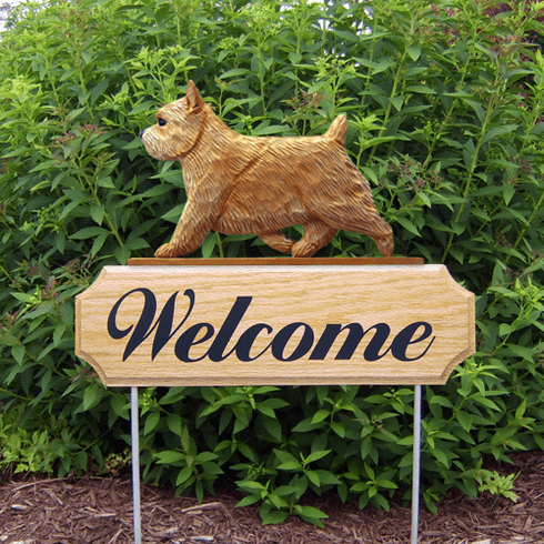 Norwich Terrier DIG Welcome Stake-Wheaten