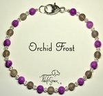 <b>Orchid Frost Necklace for Dogs <br>(Matching Human Necklace Available!)</b>