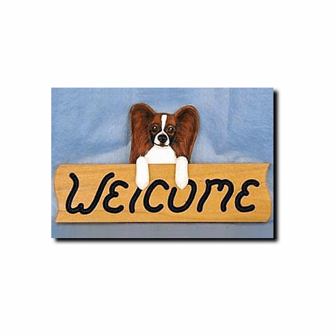 Papillon Welcome Sign