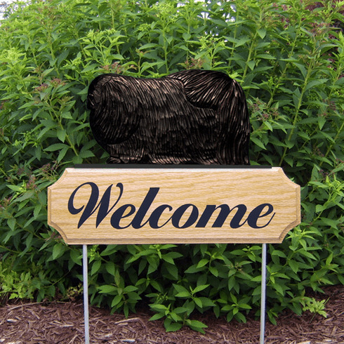 Pekingese DIG Welcome Stake-Black