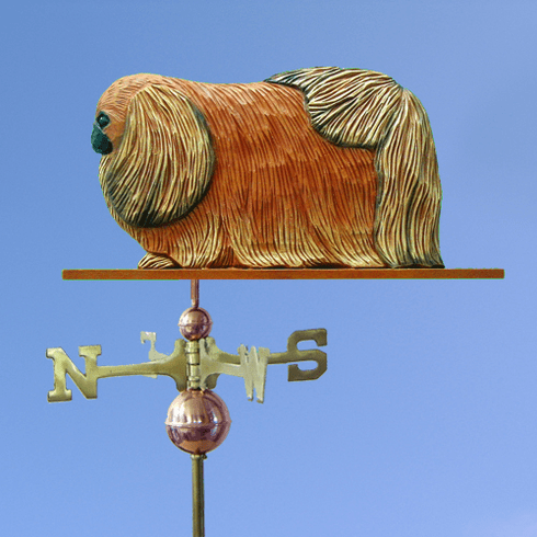 Pekingese Weathervane-Red