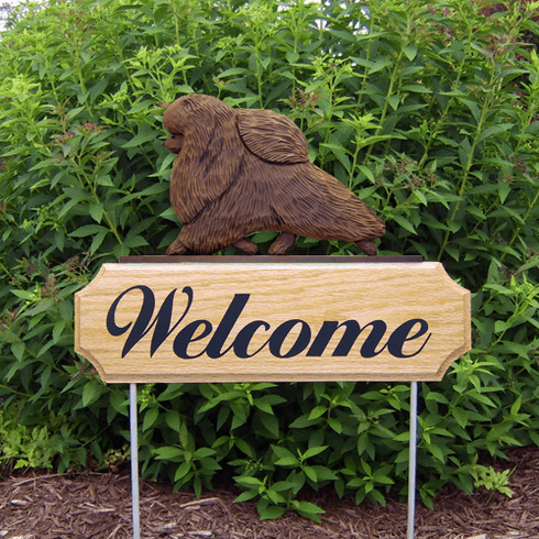 Pomeranian DIG Welcome Stake-Brown