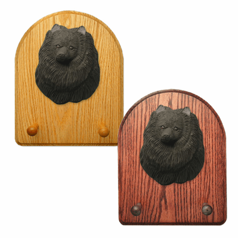 Pomeranian Key Rack-Black