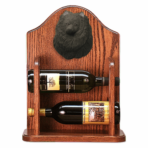 Pomeranian Wine Rack -Black