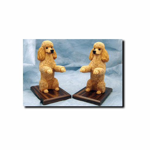 Poodle Bookends