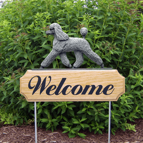 Poodle DIG Welcome Stake-Grey