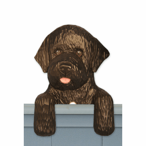 Portugese Water Dog Door Topper