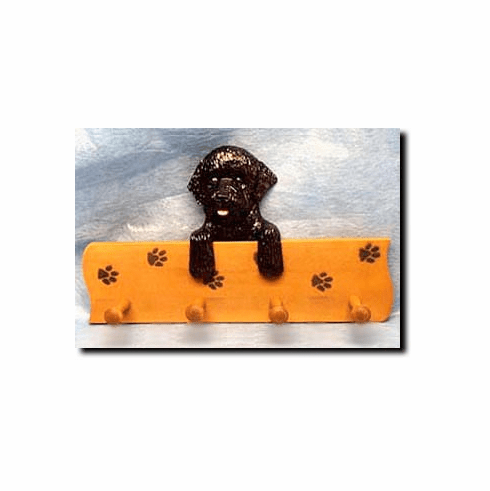 Portuguese Water Dog Four-Peg Hang Up
