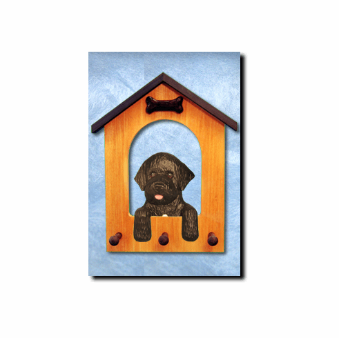 Portuguese Water Dog House Leash Holder
