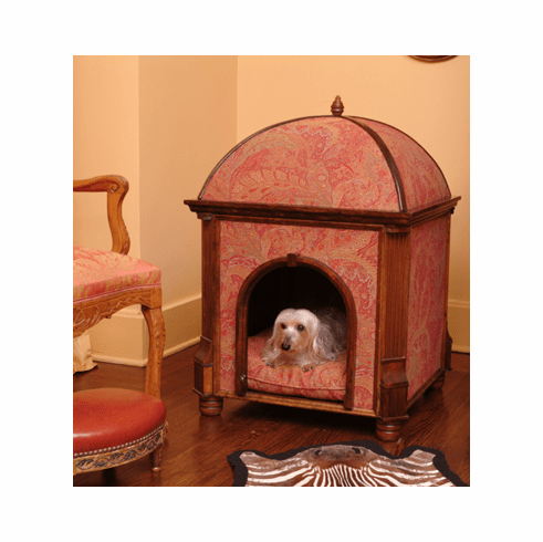 Precious Palaces Marie Antoinette Walnut Pet Bed