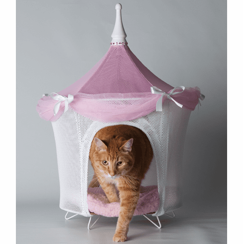 Pretty In Pink Pet Tent