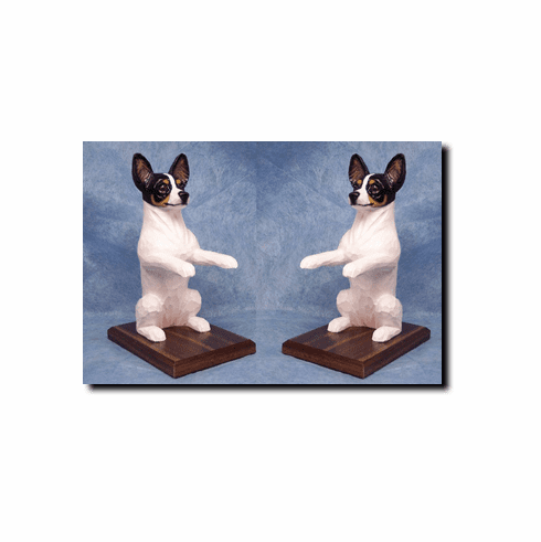 Rat Terrier Bookends
