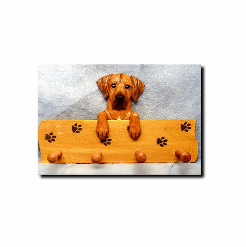 Rhodesian Ridgeback Dog Four-Peg Hang Up