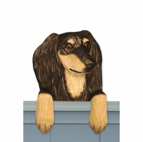 Saluki Door Topper