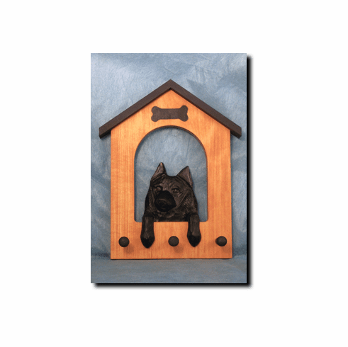 Schipperke Dog House Leash Holder