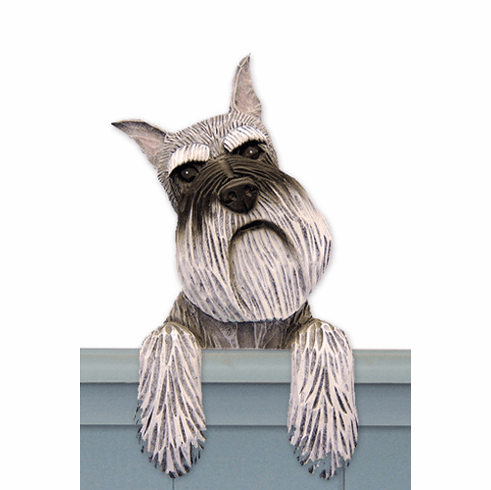 Schnauzer Miniature Door Topper
