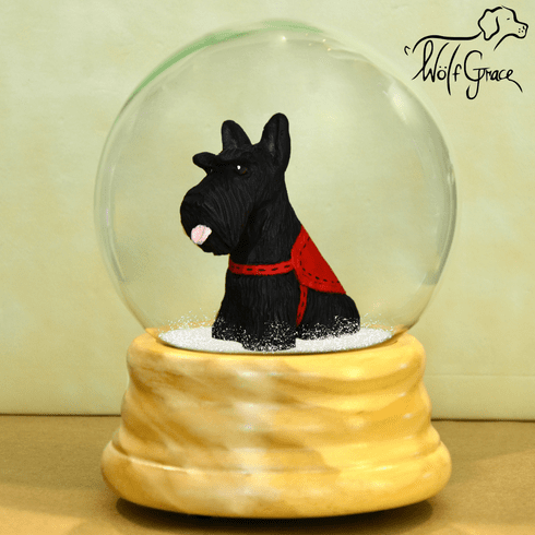 Scottish Terrier Snow Globe