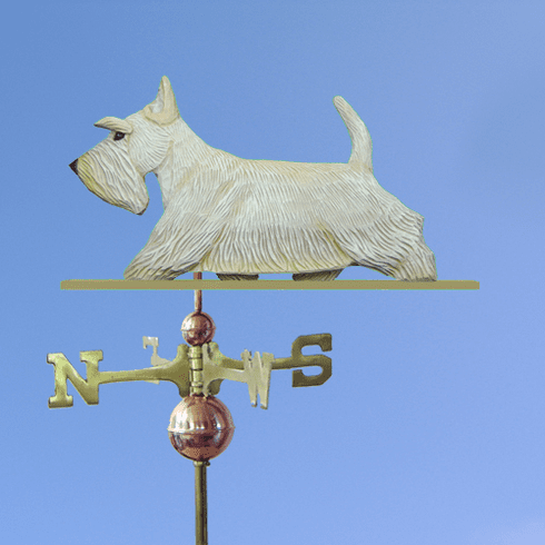 Scottish Terrier Weathervane-Wheaten
