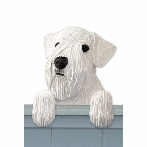 Sealyham Terrier Door Topper