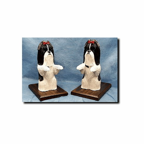 Shih Tzu Bookends