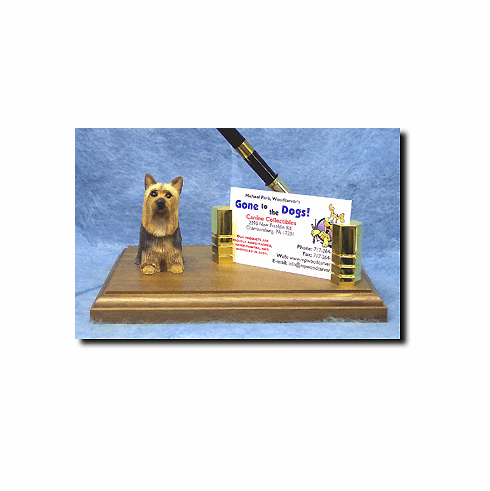 Silky Terrier Deluxe Desk Set
