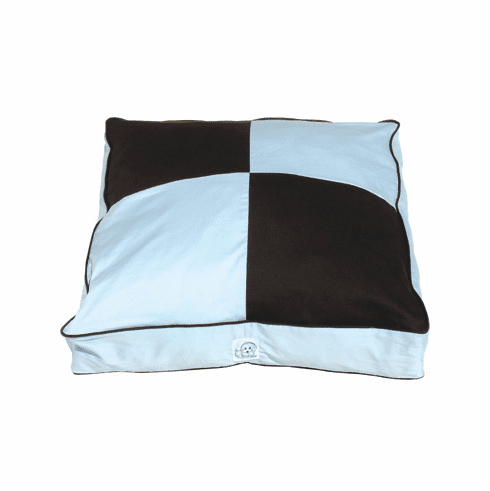 Squares Have It Again Twill Dog Bed