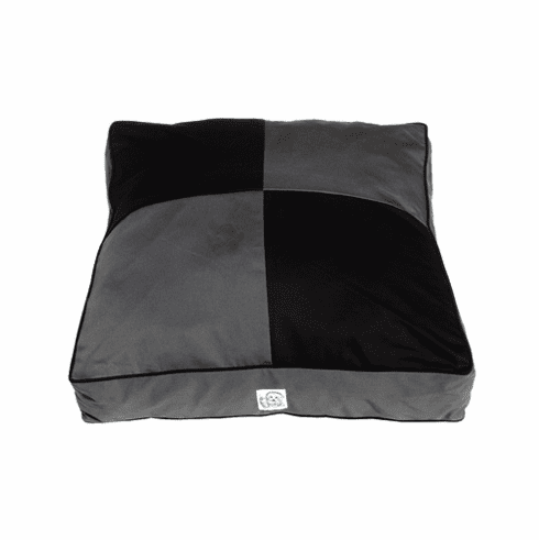 Squares Have It Twill Dog Bed