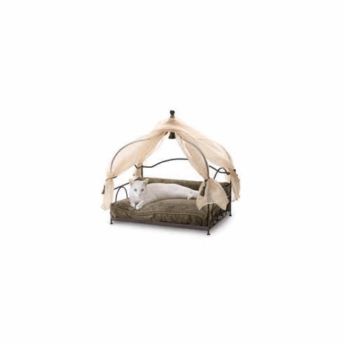 Stephanie's Canopy Moss Pet Bed