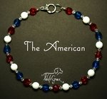 <b>The American Necklace for Dogs <br>(Matching Human Necklace Available!)</b>