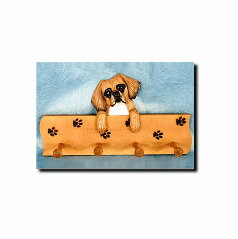 Tibetan Spaniel Dog Four-Peg Hang Up