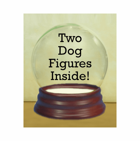 Two Dog Globes
