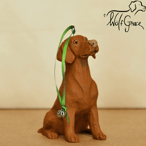 Vizsla 3-Dimenional Christmas Ornament