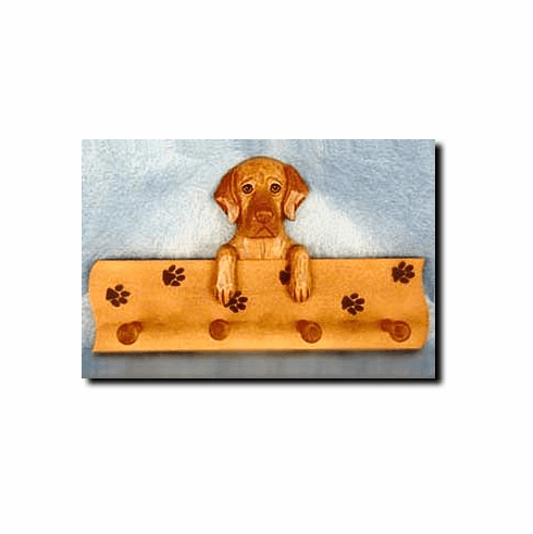 Vizsla Dog Four-Peg Hang Up