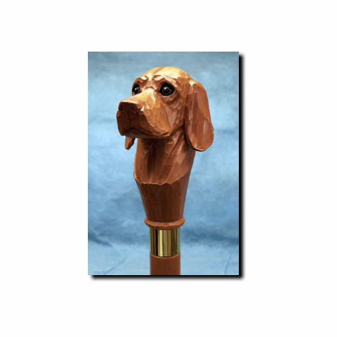 Vizsla Walking Stick, Hiking Staff