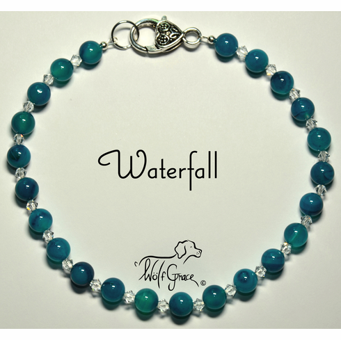 <b>Waterfall Necklace for Dogs <br>(Matching Human Necklace Available!)</b>