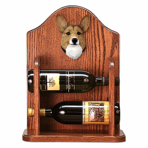 Welsh Corgi (pembroke) Wine Rack-Sable
