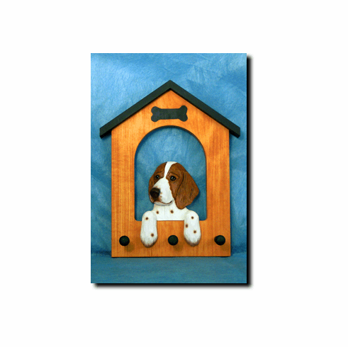 Welsh Springer Spaniel Dog House Leash Holder