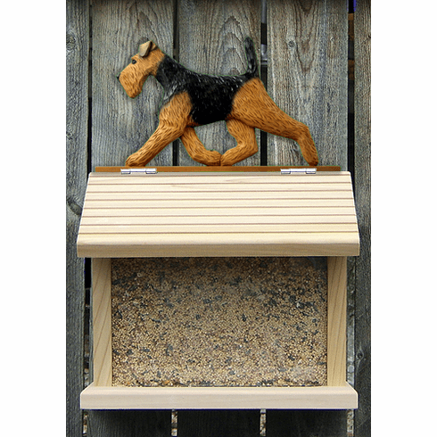 Welsh Terrier Bird Feeder-Standard