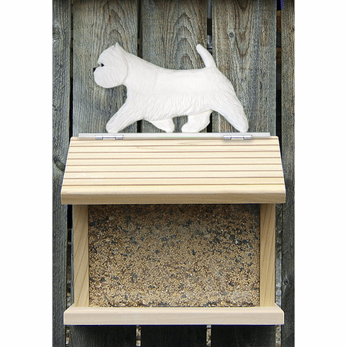 West Highland Terrier Bird Feeder-Standard
