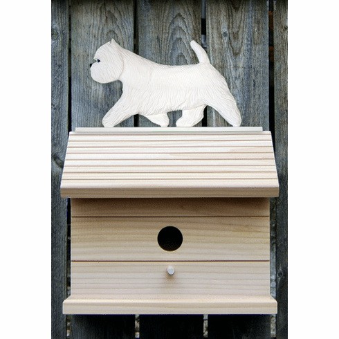 West Highland Terrier Bird House-Standard