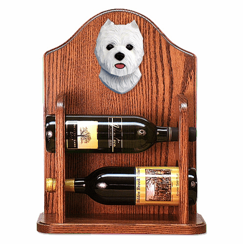 West Highland Terrier Wine Rack-Standard