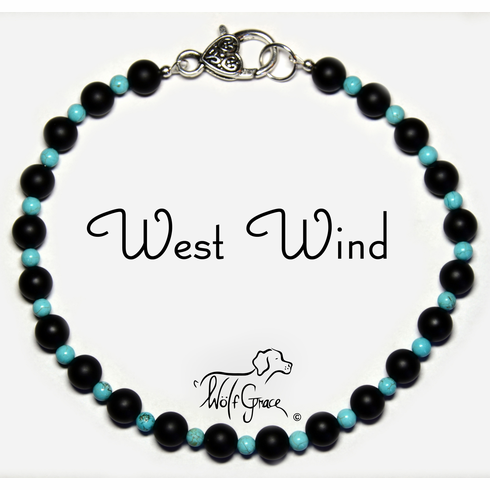 <b>West Wind Necklace for Dogs <br>(Matching Human Necklace Available!)</b>