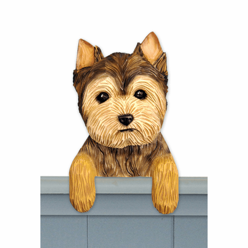 Yorkshire Terrier Puppy Clip Door Topper