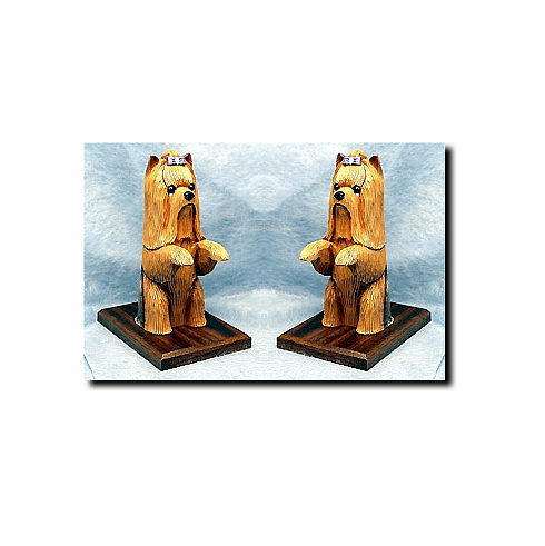 Yorkshire Terrier Yorkie Bookends