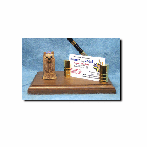 Yorkshire Terrier Yorkie Deluxe Desk Set